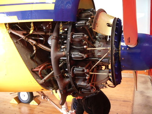 Yak-18T Engine