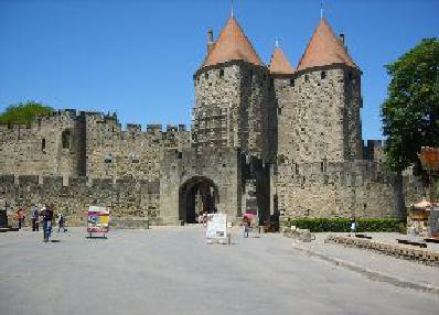 Entrance to the walled city