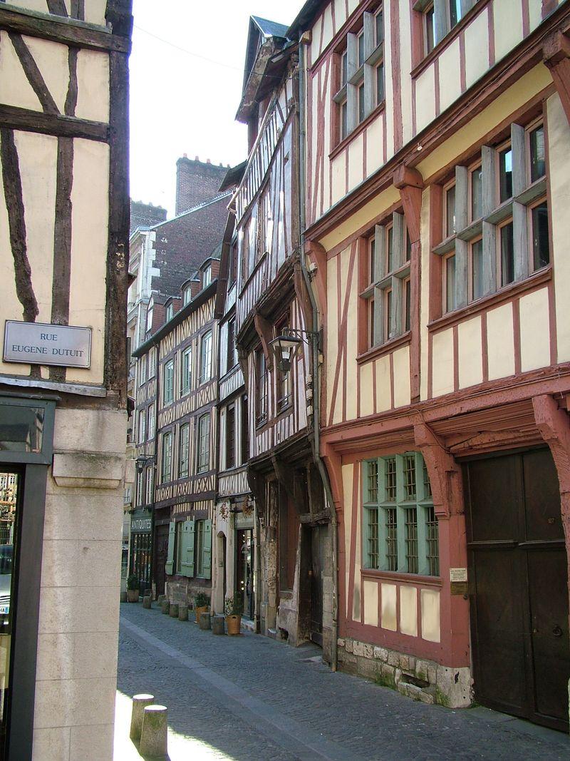 Rouen old city